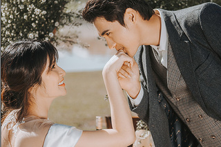 Ảnh cưới lãng mạn của Thảo Trang và chồng trẻ kém 9 tuổi ở Đà Lạt