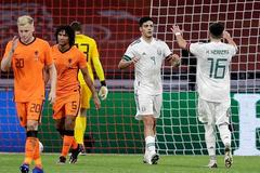 Hà Lan thua Mexico trước UEFA Nations League
