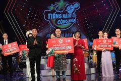50 triệu đồng được trao cho quán quân Tiếng hát công nhân