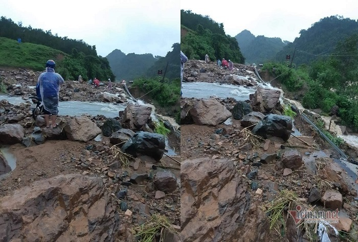Nước thượng nguồn cuồn cuộn đổ về, 7 người chết và mất tích