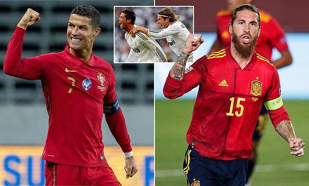Ronaldo và Sergio Ramos làm lành, sau 2 năm 'nghỉ chơi'