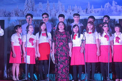 Hope choir presents concert to celebrate Hanoi's anniversary