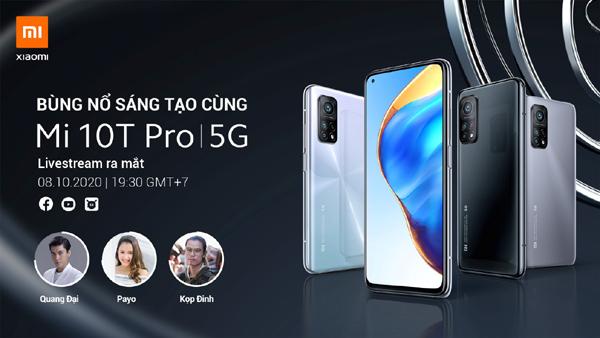 Xiaomi ra mắt Mi10T Pro tại Việt Nam
