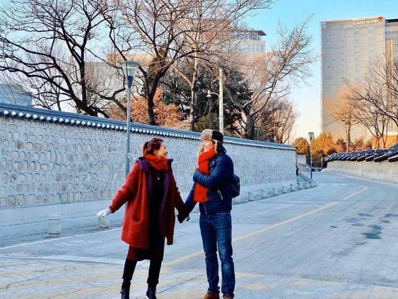 chong tay hoang oanh dien trai nhu tai tu cung chieu vo het muc 26 Sao Việt hôm nay 25/2: Phút bình yên của Chí Trung và bạn gái ở quê