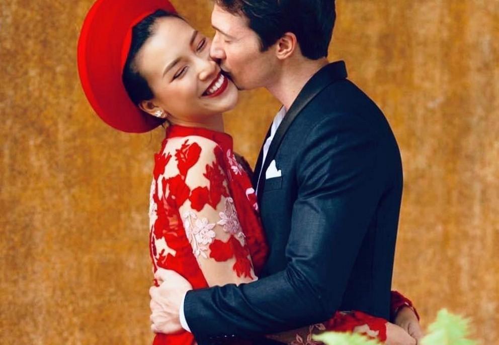chong tay hoang oanh dien trai nhu tai tu cung chieu vo het muc 4 Sao Việt hôm nay 25/2: Phút bình yên của Chí Trung và bạn gái ở quê