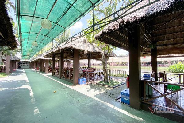 Chủ khu ẩm thực gần 25.000m2 xây không phép xin tồn tại công trình