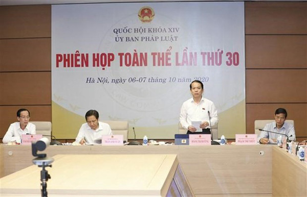 NA committee discusses resolution on urban administration in HCM City
