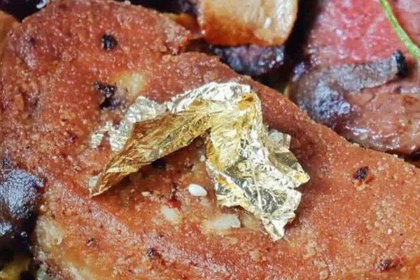 Món ăn dát vàng ở Việt Nam không chỉ dành cho 'thượng đế' giàu sang