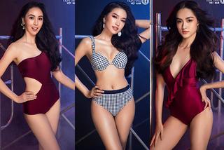 Thí sinh vòng bán kết Hoa hậu Việt Nam 2020 rực lửa với bikini