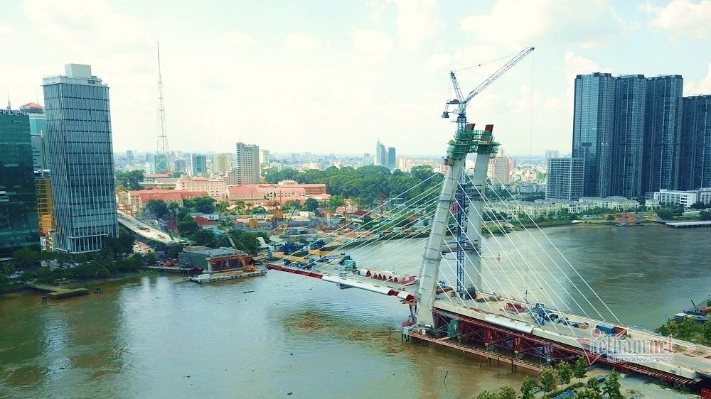 Cầu Thủ Thiêm 2 lùi tiến độ hoàn thành vào năm  2023