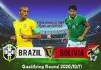 Trực tiếp Brazil vs Bolivia: Chủ nhà ra oai