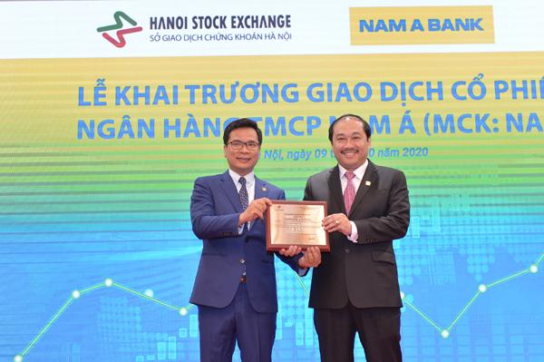 Hơn 389 triệu cổ phiếu Nam A Bank chào sàn UPCoM