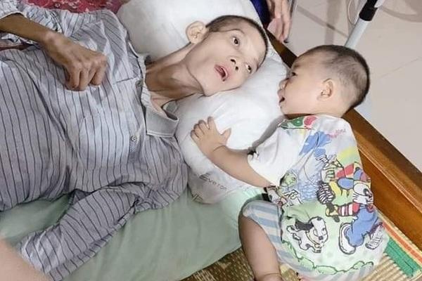 Cha tai nạn liệt giường, 5 con thơ nheo nhóc
