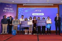 Học sinh An Giang giành giải Nhất cuộc thihùng biện Tiếng Anh