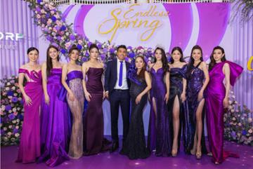Hoa hậu Trần Tiểu Vy trong sắc tím 'Thanh xuân bất tận'