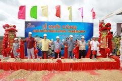 Khởi công dự án trang trại heo thịt gần 500 tỷ đồng ở Bình Phước