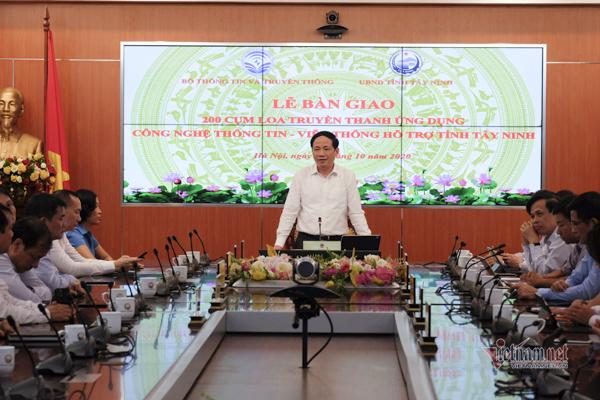 Bàn giao 200 cụm loa truyền thanh thế hệ mới cho tỉnh Tây Ninh