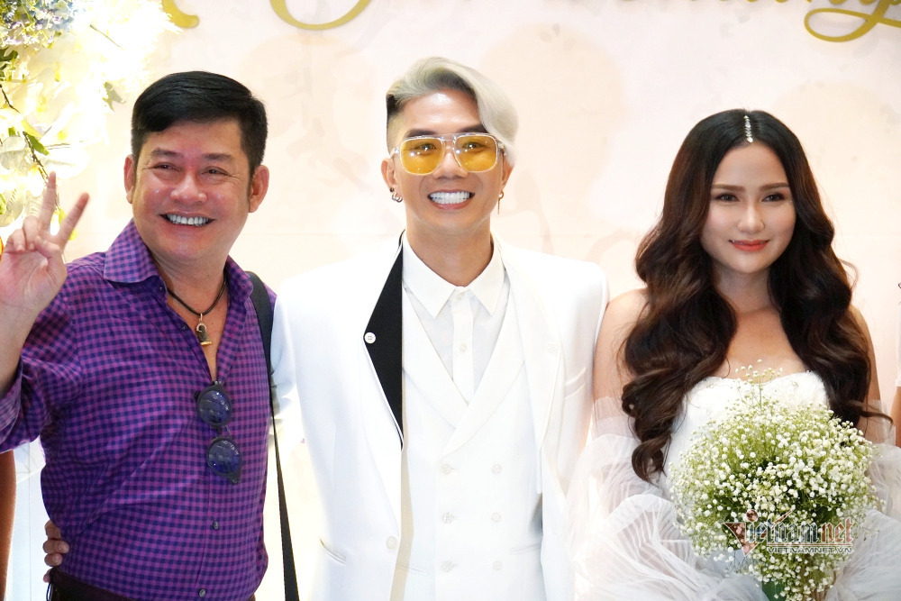 Dàn sao miền Tây dự đám cưới Khánh Đơn và vợ kém 8 tuổi