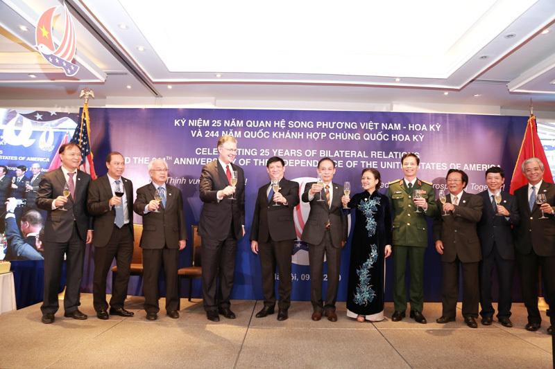 Mỹ ủng hộ Việt Nam phát triển mạnh mẽ, thịnh vượng và độc lập