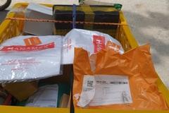 Mánh khóe lừa đảo mới trên Shopee: Mua quần áo tập nhận ba lỗ rởm