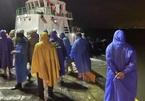4 tàu cá ở Đà Nẵng chìm trên biển, 2 ngư dân mất tích