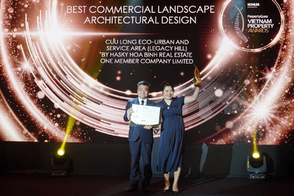 Legacy Hill được vinh danh tại giải PropertyGuru 2020
