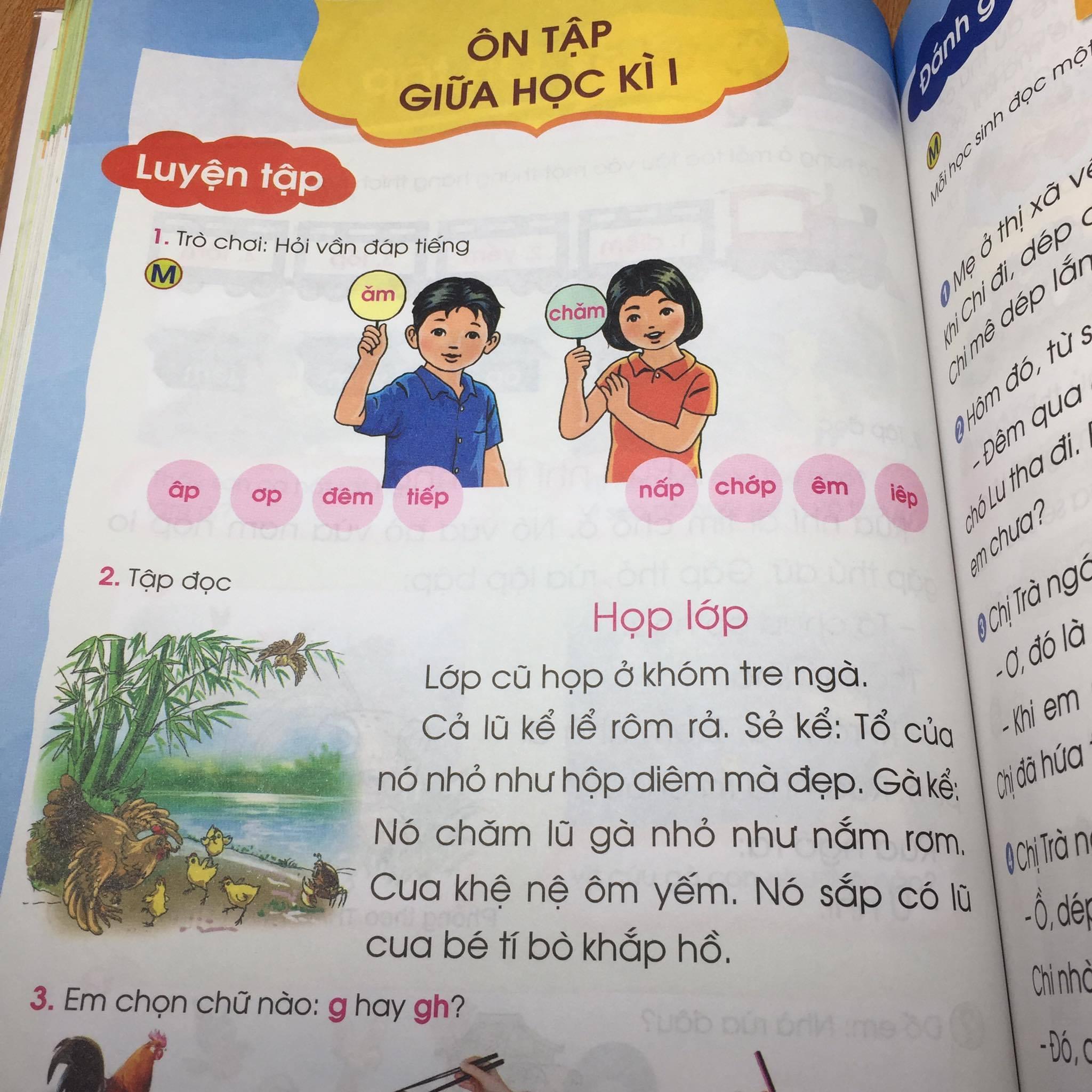 Tác giả lên tiếng về SGK Tiếng Việt 1 bị chê dạy học sinh 'lười nhác, thủ đoạn'