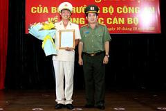 Thượng tá Nguyễn Nhật Trường làm Phó Giám đốc Công an An Giang
