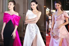 Thuỵ Vân, Đỗ Mỹ Linh rực rỡ trên thảm đỏ bán kết HHVN 2020