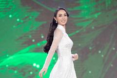 Thí sinh Hoa hậu Việt Nam 2020 thướt tha trong áo dài trắng