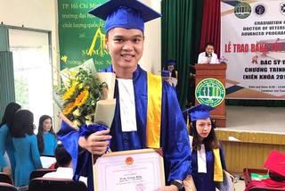Nam sinh tốt nghiệp bác sĩ Thú y xuất sắc: Với em, nghề rất cao quý