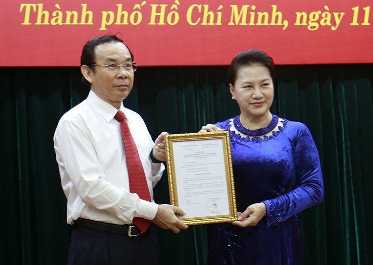 Giới thiệu ông Nguyễn Văn Nên để bầu làm Bí thư Thành ủy TP.HCM