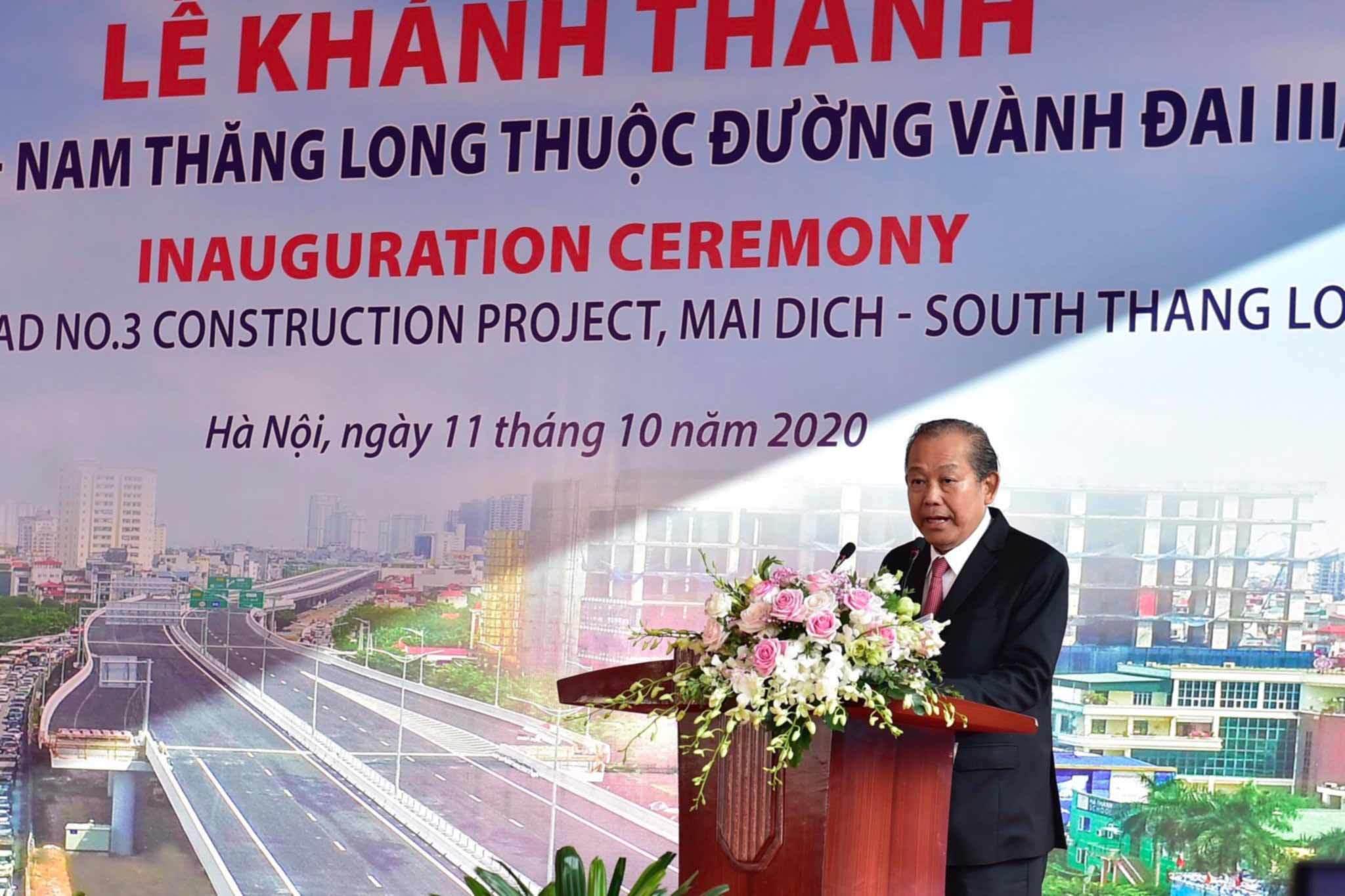 Thông xe đường trên cao hơn 5.300 tỷ ở Hà Nội