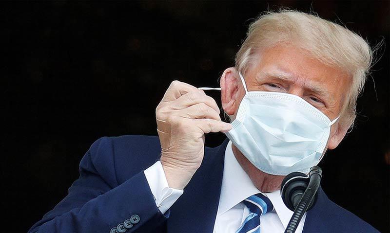 Ông Trump 'hết nguy cơ truyền bệnh Covid-19'