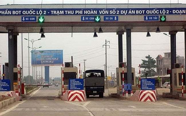 Dừng thu phí dự án BOT Nội Bài - Vĩnh Yên từ ngày 14/10