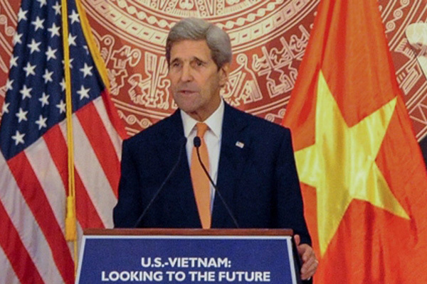 Former Secretary of State John Kerry: Together we can conquer the future