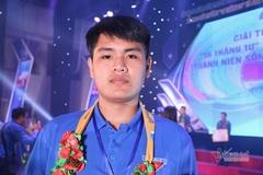 Ngô Minh Hiếu được trao giải thưởng 'Thanh niên sống đẹp'
