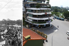Hanoi now and then through photos