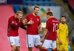 Haaland scored a super hat-trick to help Norway destroy Romania
