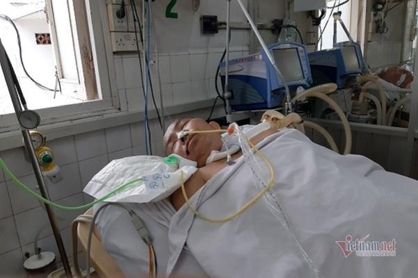 Chồng mất chưa được 100 ngày, vợ đổ bệnh cần 100 triệu đồng cứu nguy