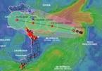 Hai kịch bản đường đi của áp thấp nhiệt đới khả năng mạnh lên thành bão