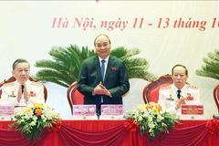 Thủ tướng Nguyễn Xuân Phúc dự Đại hội đại biểu Đảng bộ Công an Trung ương