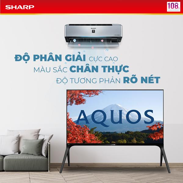 Sharp 'ghi điểm' với tivi 8K tích hợp công nghệ 5G