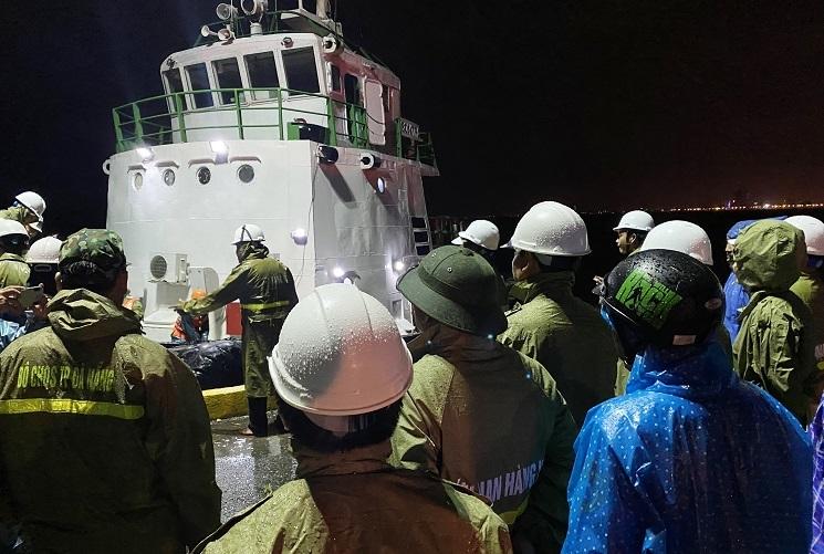 Thi thể ngư dân mất tích trôi vào bờ biển Đà Nẵng
