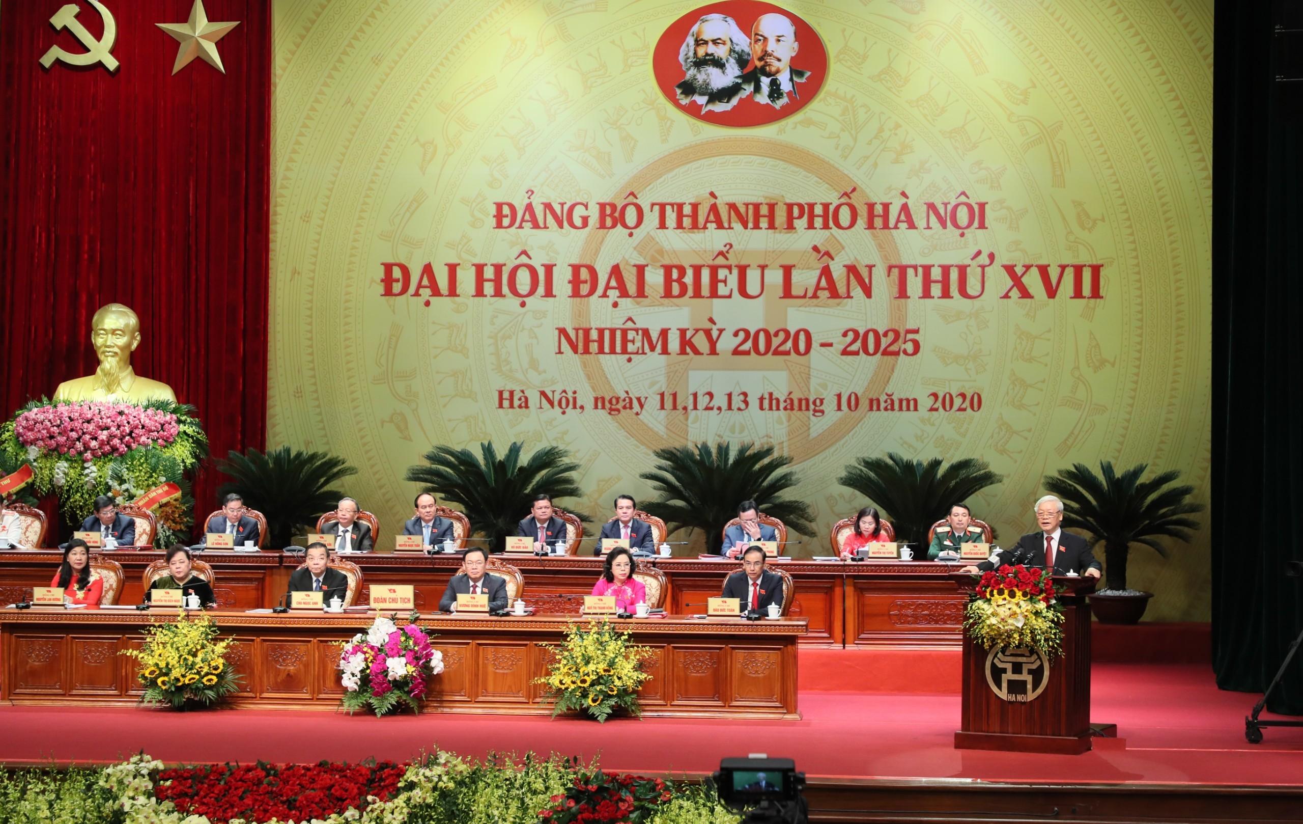 Tổng Bí thư, Chủ tịch nước: Hà Nội chưa bao giờ có tầm vóc và cơ hội phát triển như bây giờ