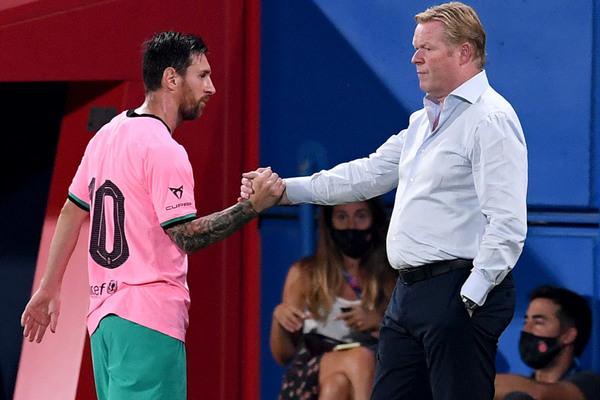 Cavani khiến fan MU phấn khích, Koeman lên tiếng Messi