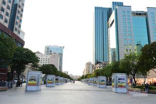 Phố đi bộ Nguyễn Huệ cấm xe 3 đêm liền