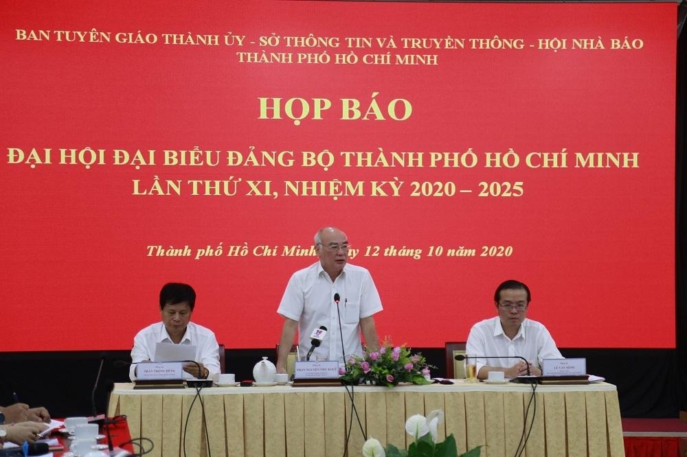 Thủ tướng Nguyễn Xuân Phúc sẽ dự, chỉ đạo Đại hội Đảng bộ TP.HCM