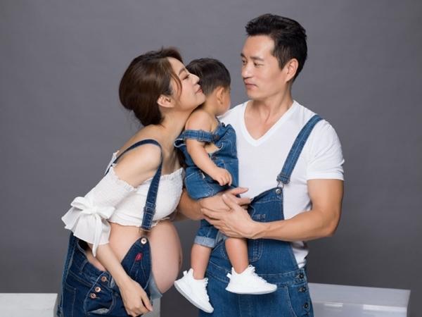'Triệu Mẫn' An Dĩ Hiên xinh đẹp khoe ảnh mang thai con thứ hai