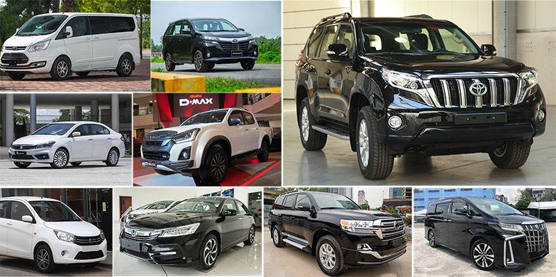 10 ô tô ế nhất tháng 9: Toyota, Honda, Ford quen mặt